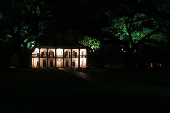 Oak Alley Plantation Restaurant & Inn : Guests can wander the plantation grounds at night after closing!