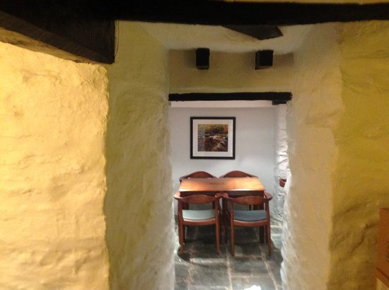 The Old Stamp House Restaurant: Relax in our historical cellar restaurant