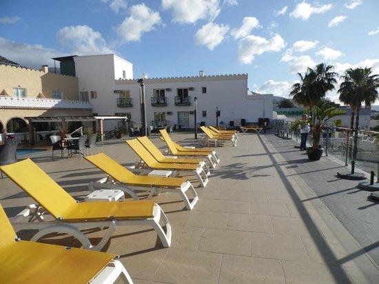 Nerja Club: Sun deck