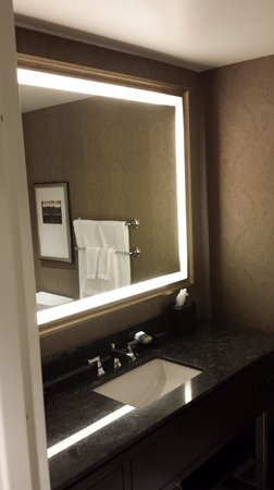 Omni Nashville Hotel: Very cool bathroom