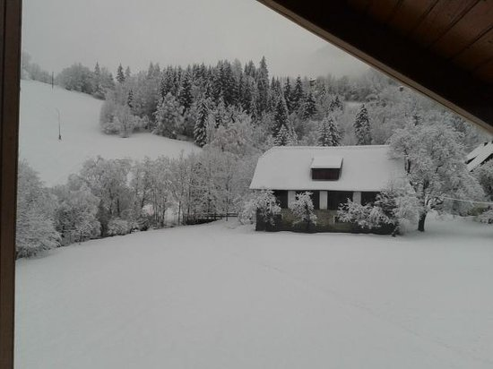 Hotel Almrausch: from our window