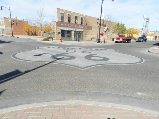 Standin' on the Corner Park: Standing on the Corner Park Route 66