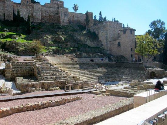 Roman Theatre : Malaga - Roman Ruins