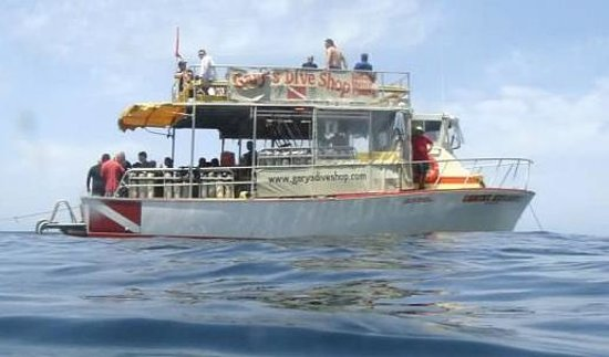 Our boat picture of gary 39 s dive shop san carlos - Dive shop mexico ...