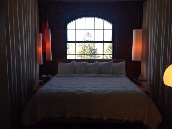 NYLO Providence/Warwick: our cosy room