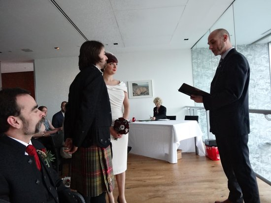 Baltic Centre for Contemporary Art: Wedding ceremony in Rooftop Restaurant