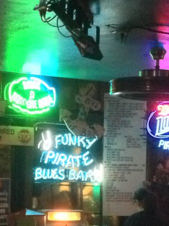The Funky Pirate Blues Club: cause when you're dead you're gone