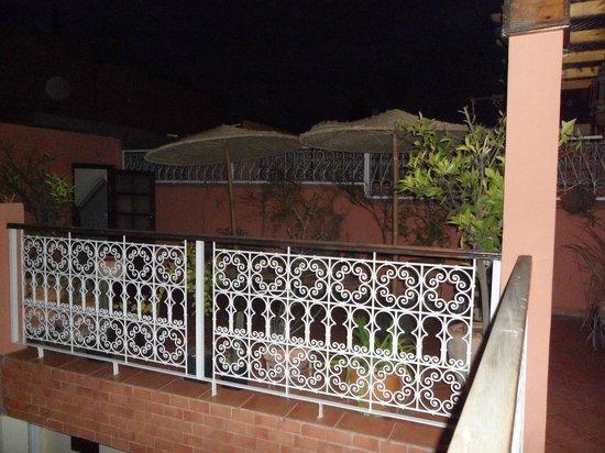 Hotel Atlas : terrasse niveau 2