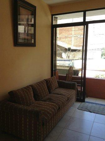 Hostal Los Andes: Área wi_fi
