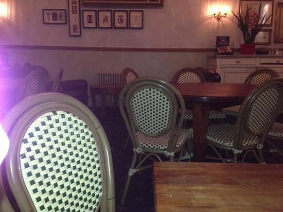 The White Hart: Plastic Chairs