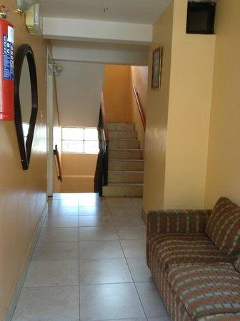 Hostal Los Andes: pasillos