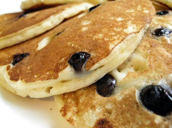 Main Street Diner: Oregon Blueberry Hotcakes