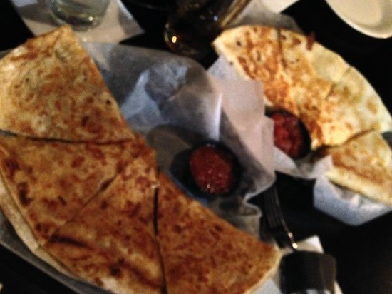 Tavern of Solon: Quesadilla  Chicken and Pork