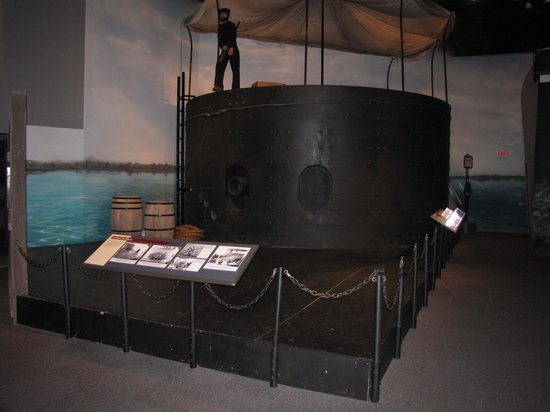 National Civil War Naval Museum: Recreation of the USS Monitor