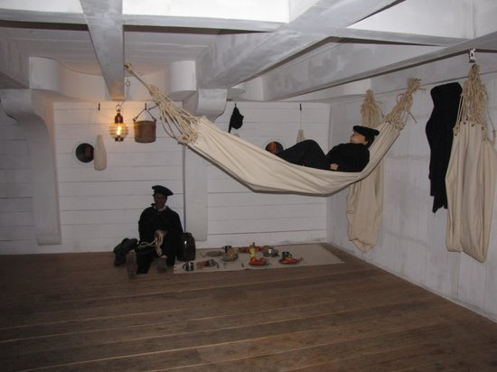 National Civil War Naval Museum: Life inside a Confederate Ship