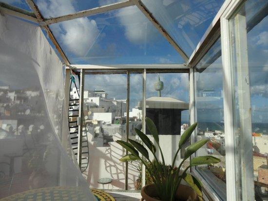 Dar JAND: Rooftop terrace