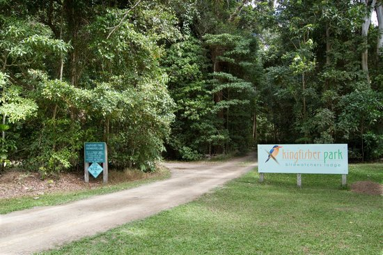 Kingfisher Park Birdwatchers Lodge: Entrance to Lodge