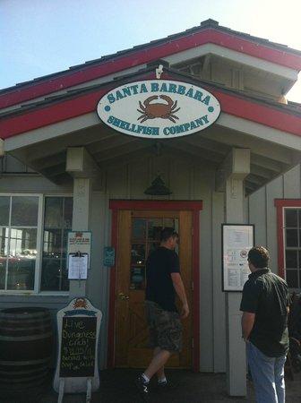 Santa Barbara Shellfish Company : Entrance