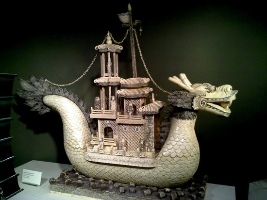 Belz Museum of Asian & Judaic Art: Carved Dragon
