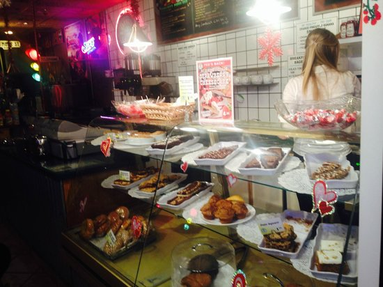 Granville's Coffee: All the great food.