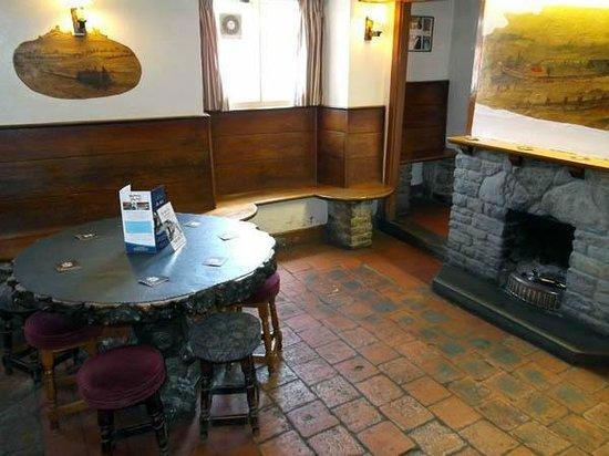 The Boat Inn: tap room