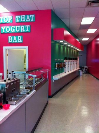 Top That Yogurt Bar