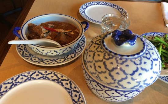 Siam Thai Bistro: Beef curry