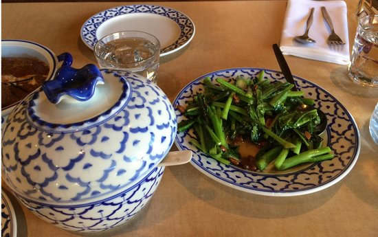 Siam Thai Bistro: Broccoli with soy beans