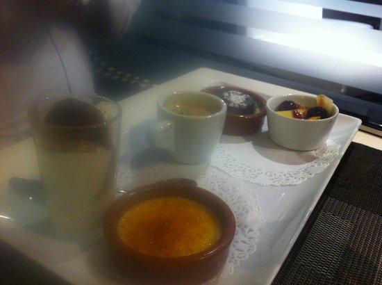 Brasserie du Port om café : Café gourmand