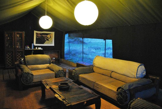 Ang'ata Camp Serengeti : Lounge Reception