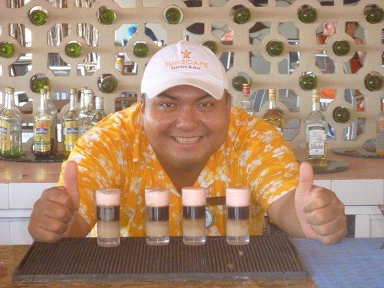 Sunscape Dorado Pacifico Ixtapa: Raymundo specials!!!