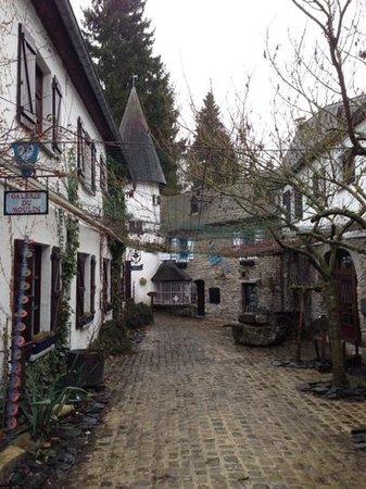 Domaine du Moulin d'Asselborn: l'entrée
