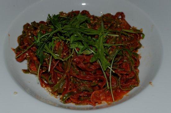 Pasta Divina: Roméo et Julietta : avec Crumble d'amande et Speck dell' Alto (Jambon cru) 18 février