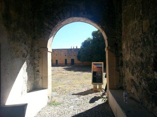 Mezcala Island: Entrada al fuerte
