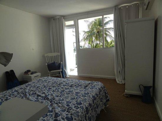 Le M Hotel Marie Galante : notre chambre simple et romantique