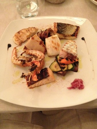 Da Claudio : Warm Seafood Salada