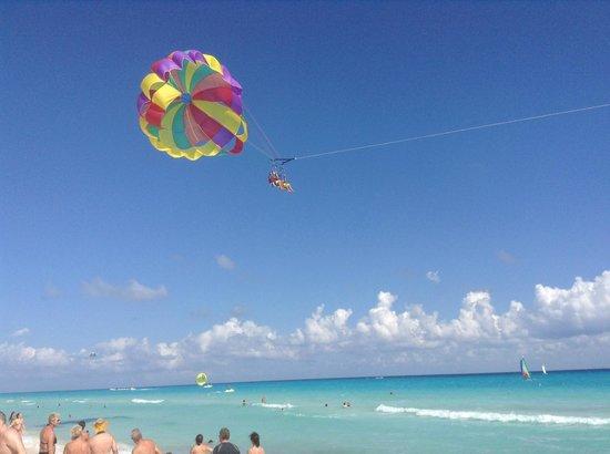 Sandos Playacar Beach Resort : plage