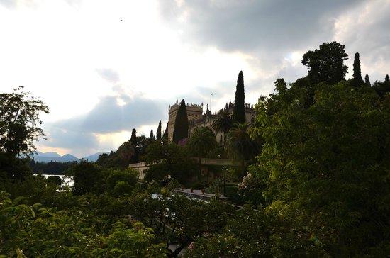 Isola del Garda: L'Isola vista dalla Secca Praesel