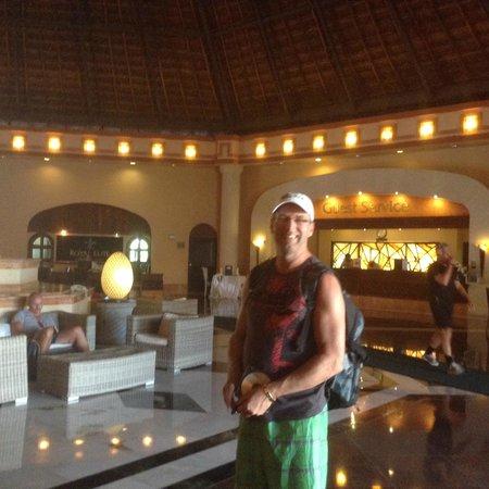 Sandos Playacar Beach Resort : meting point
