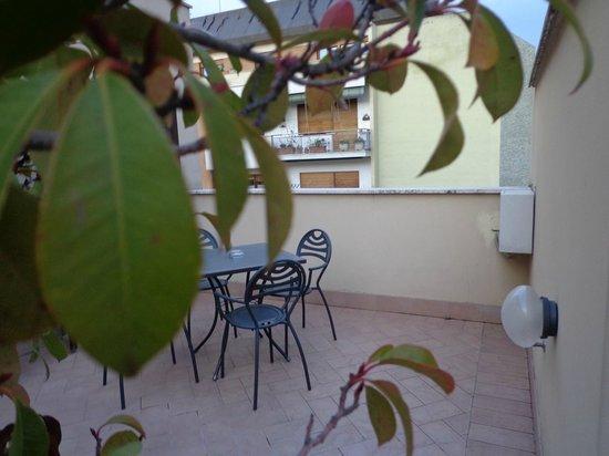 Hotel Alimandi Vaticano: Varanda da Suite, dando vista para o Vaticano