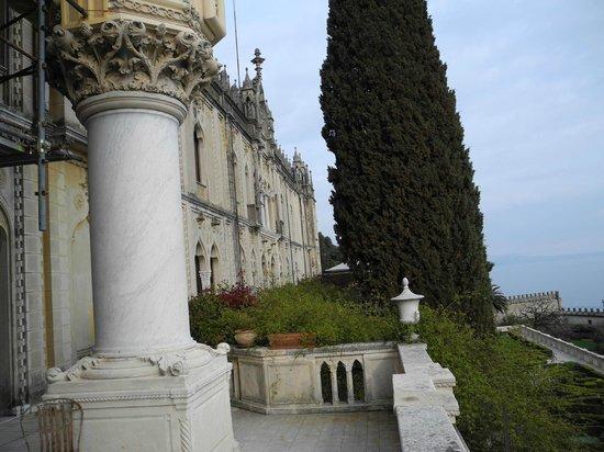 Isola del Garda: La facciata anteriore