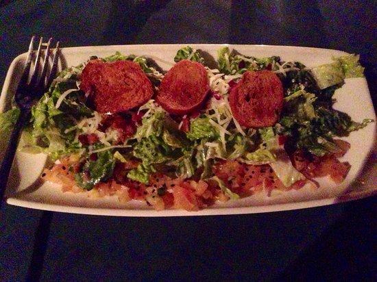 Rainforest Hideaway: Caesar salad