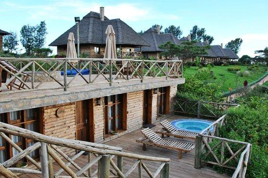 Neptune Ngorongoro Luxury Lodge : Centro SPA
