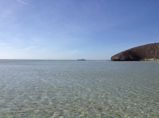 Balandra Beach : looking out to the Sea of Cortez
