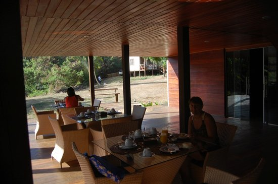 Pousada Simpatia da Ilha : Lugar donde sirven el desayuno