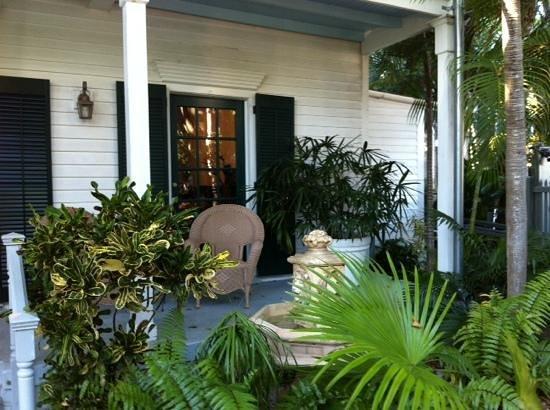 The Cabana Inn Key West: Entree Cabana Inn