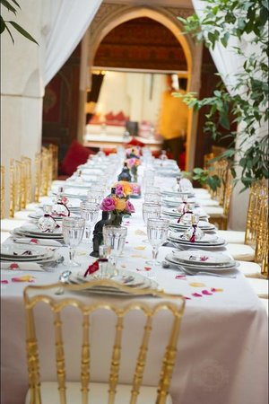 Riad Dar Karma : Wedding Dinner in the Dar Karma Courtyard