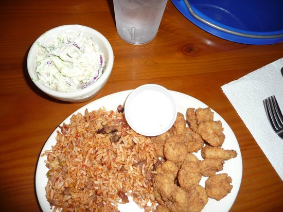Gilligan's Seafood Restaurant: popcorn shrimp