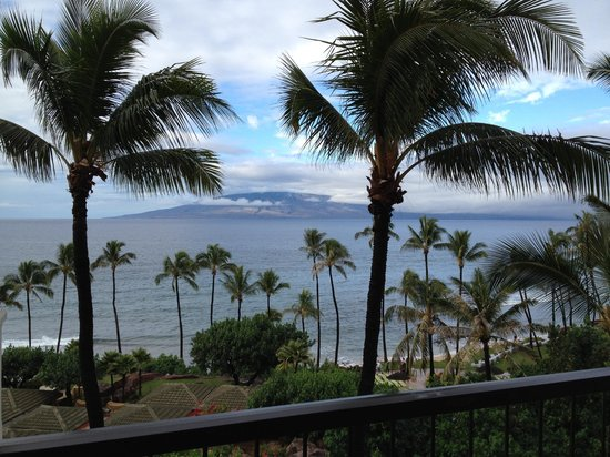 Hyatt Regency Maui Resort and Spa: View from our room.