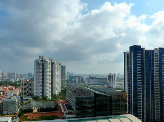 PARKROYAL on Kitchener Road: View from room #2010